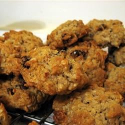 Dad's Cookies Recipe - One of Grandma Dorothy's much sought after recipes.  These oatmeal cookies are wonderfully chewy and are made with oil instead of butter or margarine so they appeal to the heath conscious.  One is never enough!