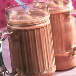 Chocolate Mug Milkshake Recipe - If you like chocolate and you have a sweet tooth then this is your drink. It tastes like hot chocolate but it's cold!