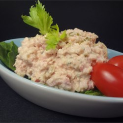 Ham Salad II Recipe - This sweet ham salad is great served on bread as a sandwich or crackers as a snack.