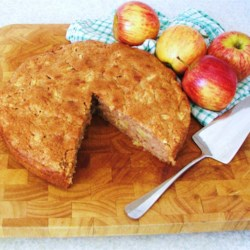 Apple Cake I Recipe - This is a tasty cake that stores well and is quite easy to make.