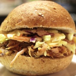 Sarge's EZ Pulled Pork BBQ Recipe and Video - Too busy to cook? A slow cooker and a can of beef broth gets you started on this recipe. 'Low and slow' cooking gives you a roast that shreds with a fork.