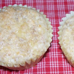 Calypso Muffins Recipe - Like a ray of tropical sunshine in the morning, combining the taste of banana, coconut, and pineapple with just a hint of nutmeg.