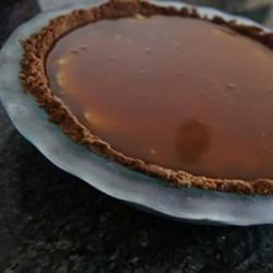Tip Top Toffee Ice Cream Pie Recipe - A homemade chocolate-covered almond toffee is blended into premium ice cream in this delicious dessert.