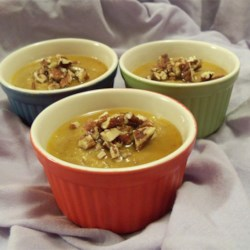 Pumpkin Pot De Creme Recipe - This gourmet dessert is a wonderful alternative to the Thanksgiving standard of pumpkin pie. I like to offer 2 desserts for that day. This one can be made the day before, freeing up valuable time on Thanksgiving Day for other preparations.  These melt in your mouth.