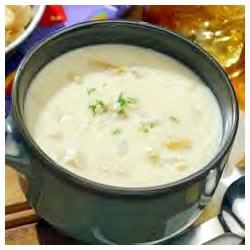 My Best Clam Chowder Recipe - A traditional cream-based clam chowder gets a boost of flavor from a little red wine vinegar.