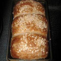 CRACKED WHEAT & OAT BREAD