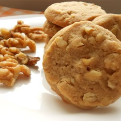 Black Walnut Cookies I Recipe - My grandmother make these cookies. They are my family's favorite.