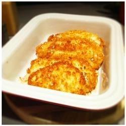Lemon Garlic Breaded Chicken