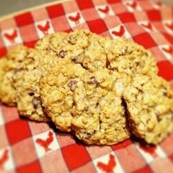 Snow Day Oatmeal Chocolate Chip Cookies