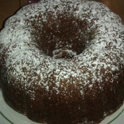Fresh Apple Spice Cake Recipe - This is a lovely fall dessert which is a lovely moist and dark cake.