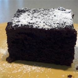 Amazing Slow Cooker Chocolate Cake Recipe - A rich moist chocolate cake, made easily in the slow cooker.