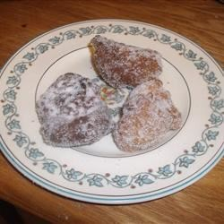 Puggie Woogie Recipe - Fried dumplings rolled in sugar. These are a little bit like doughnuts.