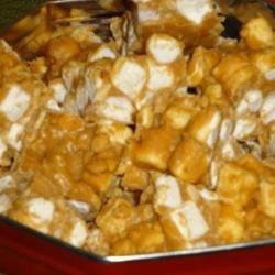 Peanut Butter Mallow Candy