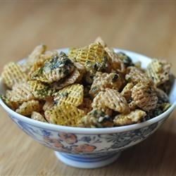 Furikake Snack Mix Recipe - A sweet and salty mixture of crispy cereal with sugar and furikake seasoning makes this popular Hawaii snack a crowd-pleaser!