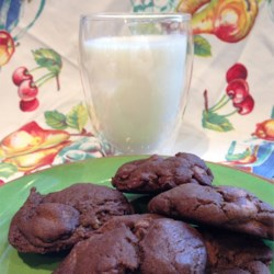 Chili Chocolate Cookies Recipe - These dense, dark, and dangerously addictive cookies feature a dose of black pepper and cayenne, which to some may seem like an odd addition. But one taste and you'll understand the method to this madness.