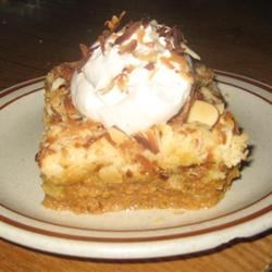 Pumpkin Pie Cake III Recipe - This is like pumpkin pie with the crust on top.