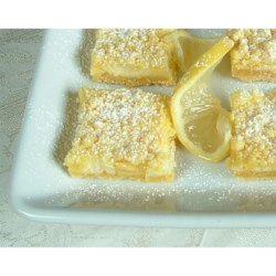 Easy Lemon Bars Recipe - The bars are great and easy to make hope you like them.