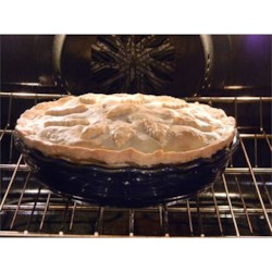 One-Hundred-One-Year-Old Pastry Recipe Recipe - This recipe calls for lard, making this crust the most tender and flaky. The shortening is cut into the flour, and then spoonfuls of a mixture of ice water, egg and vinegar are worked in. The dough is then formed into a ball and rolled out on a floured board.