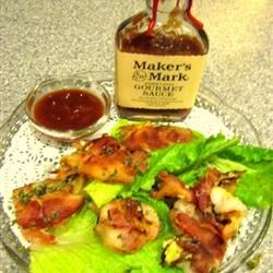 Shrimp Gabriella Recipe - Delightfully flavorful barbecued shrimp. Use your favorite barbecue sauce to baste shrimp with.