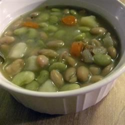 Luscious Lima Bean Soup II