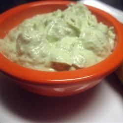 Creamy Avocado-Ranch Dip