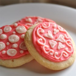 Soft Sugar Cookies IV Recipe - This Recipe is a State Fair Blue Ribbon winner.  This is an easy sugar cookie recipe, you don't have to roll it out, and the cookies are soft and chewy, unlike other sugar cookies. Anybody can make these.