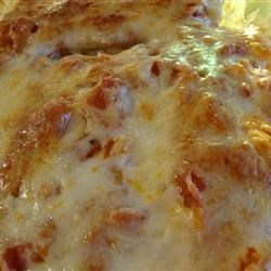 Beef Cannelloni Bake