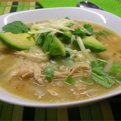 Michelle's Blonde Chicken Chili