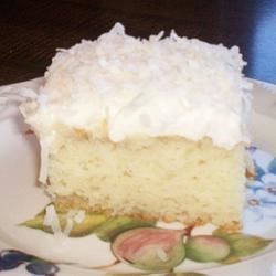 Coconut Cream Cake II Recipe - This recipe is really moist and wonderful in flavor. It's our favorite!
