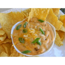 Chili Bean Dip Recipe - Everyone loves this dip, and I'm always being asked for the recipe. It's a simple blend of chile with beans and cheeses.