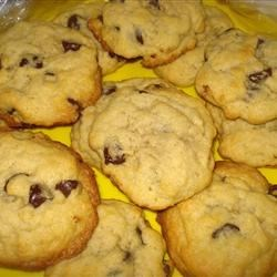 Firefighter's Favorite Chocolate Chip Cookie Recipe - A great chocolate chip cookie recipe with chewy toffee surprises!  I take these to the local firehouse and they don't last the night!