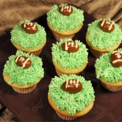 Super Bowl Cupcakes!
