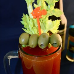 JoeDogg's Spicy Red Beer Recipe - Oklahoma style spicy beer and tomato-vegetable juice drink.