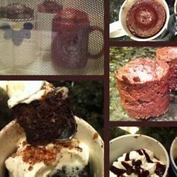 Chocolate Mug Cake GF DF