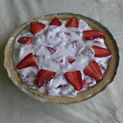 Fruit and Cream Pie I Recipe -  This is a perfect pie to make on a lazy summer day. It whips up in minutes and looks like you 've spent hours making it. Combine cream cheese, your favorite fresh fruit, confectioners ' sugar and whipped topping. Spoon it into a prepared crust and chill.