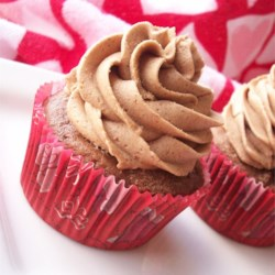 CINfully Delicious Chocolate Cupcakes Recipe - These snickerdoodle-inspired chocolate cupcakes are topped with a delightful cinnamon buttercream frosting.