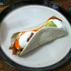 banging Tacos folded
