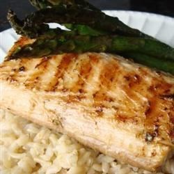 Lime-Marinated Mahi Mahi Recipe - An olive-oil marinade with black pepper, cayenne pepper, fresh garlic, and lime imparts loads of flavor to mahi mahi in this recipe.