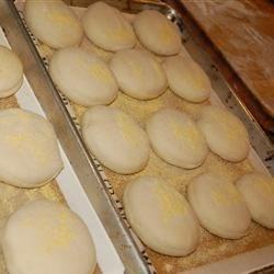 English Muffins--2nd Rise