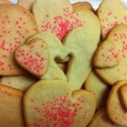 Heart Icebox Sugar Cookies