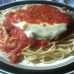 Homemade Chicken Parmigiana