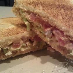Quick Tomato Sandwich