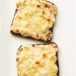 Mini Bacon and Cheese Toasts