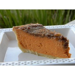 Gourmet Pumpkin Pie Recipe - A very different pie than the traditional pumpkin pie.