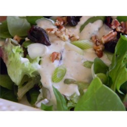 Buttermilk Blue Cheese Dressing Recipe - A simple recipe for blue cheese dressing is made with buttermilk and mayonnaise.
