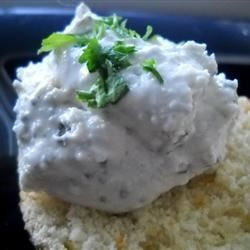 Oregano-Flavored Feta Recipe - A creamy cheese spread filled with the flavor of oregano.