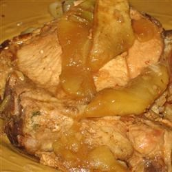 Apple Glazed Pork Chops