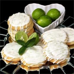 Spring Key Lime Tea Cookies