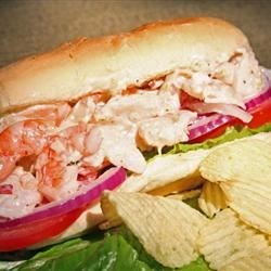 Killer Aioli Shrimp Hoagies