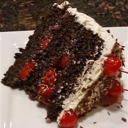 Jenny's Black Forest Cake-A Slice